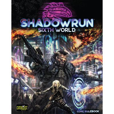 Shadowrun Sixth Edition Hardcover Core Rulebook - Ozzie Collectables