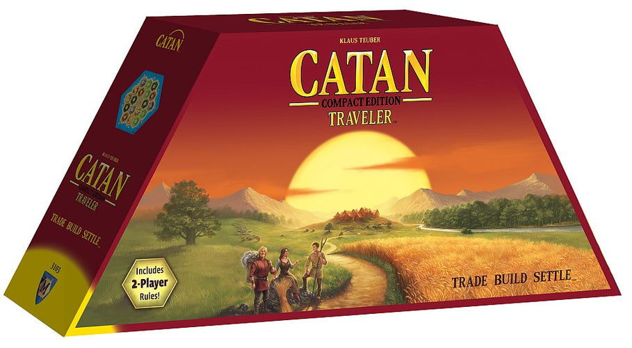 Catan Traveller Compact Edition - Ozzie Collectables