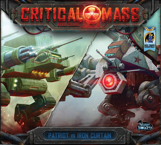 Critical Mass Patriot vs Iron Curtain - Ozzie Collectables