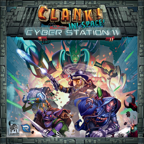 Clank In Space Cyber Station 11 - Ozzie Collectables