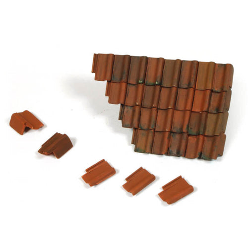 Vallejo Damaged Roof Section and Tiles Diorama Accessory - Ozzie Collectables