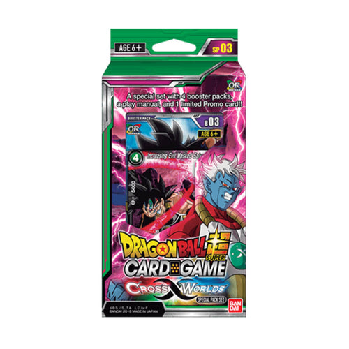 Dragon Ball Super Card Game Series 3 Special Pack DISPLAY 03 Cross Worlds - Ozzie Collectables