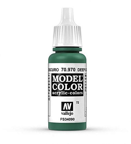 Vallejo Model Colour Deep Green 17 ml - Ozzie Collectables