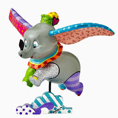 Disney Britto - Dumbo Flying Figurine - Ozzie Collectables