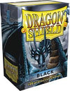 Sleeves - Dragon Shield - Box 100 - Black - Ozzie Collectables
