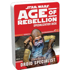 Star Wars Age of Rebellion Droid Specialist Deck - Ozzie Collectables