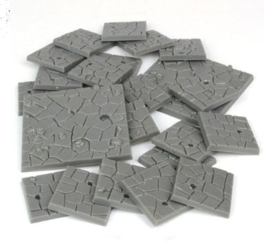 Dungeon Saga Flagstone Bases - Ozzie Collectables