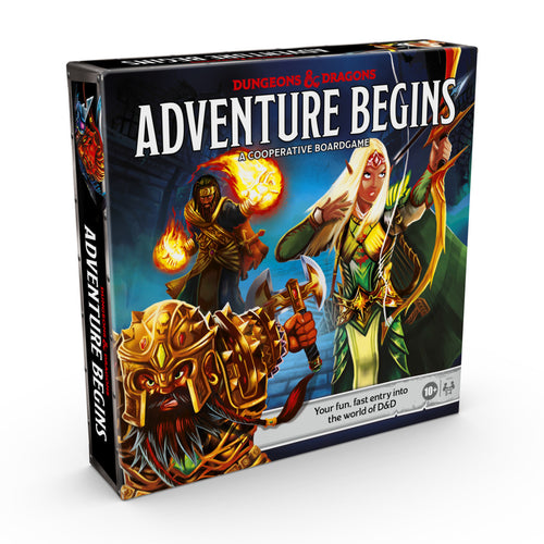 D&D Dungeons and Dragons Adventure Begins - Ozzie Collectables