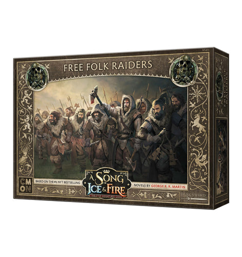 A Song of Ice and Fire Free Folk Raiders - Ozzie Collectables
