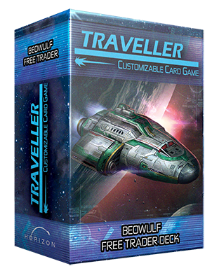 Traveller CCG Ship Deck Beowulf Free Trader - Ozzie Collectables