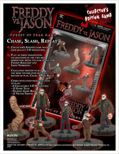 Heroclix - Freddy Vs Jason Forest of Fear Game - Ozzie Collectables