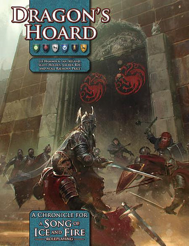 A Song of Ice and Fire Roleplaying Dragons Hoard - Ozzie Collectables