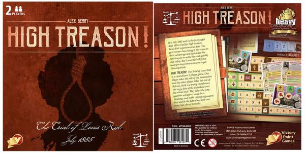 High Treason 2nd edition - Ozzie Collectables