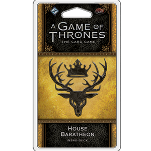 A Game of Thrones LCG House Baratheon Intro Deck - Ozzie Collectables