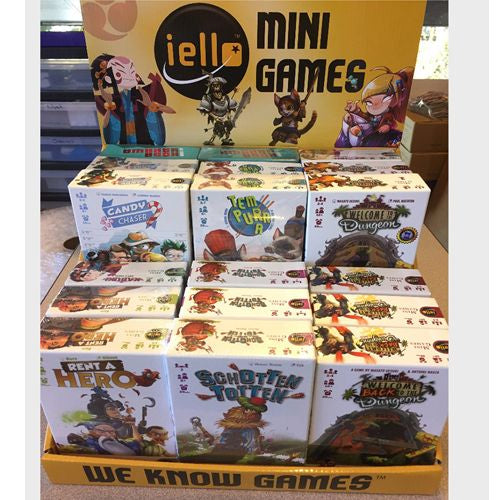 Iello Mini Game Display - Ozzie Collectables