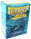 Sleeves - Dragon Shield - Box 100 - Turquoise - Ozzie Collectables