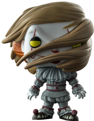 It (2017) - Pennywise with Wig US Exclusive Pop! Vinyl - Ozzie Collectables
