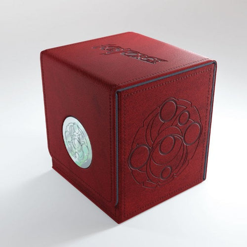 Keyforge Vault Deck Box Red - Ozzie Collectables