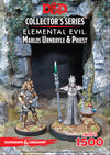 D&D Collectors Series Miniatures Elemental Evil Marlos Urnrayle & Earth Priest (2 Figs) - Ozzie Collectables