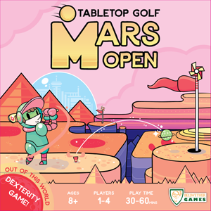 Mars Open Tabletop Golf Boxed Dexterity Game - Ozzie Collectables