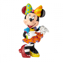 Disney Britto Minnie Mouse 90th Anniversary Figurine With Bling - Large - Ozzie Collectables