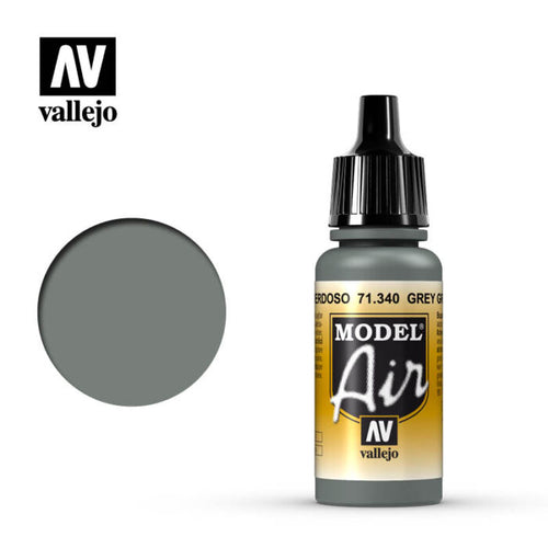 Vallejo Model Air Grey Green 17ml Acrylic Paint