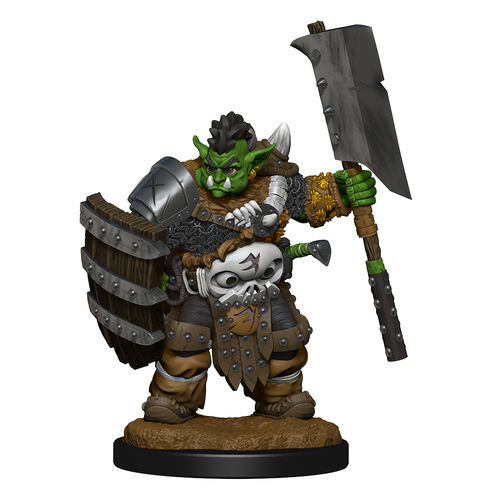 D&D Wizkids Wardlings Painted Miniatures Orc - Ozzie Collectables