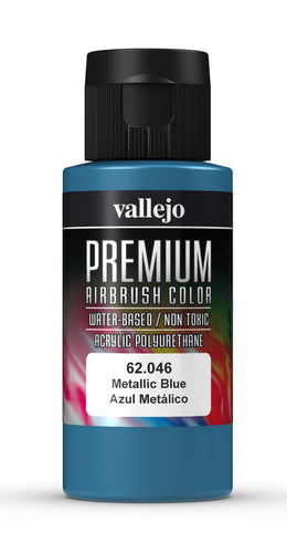 Vallejo Premium Colour Metallic Blue 60 ml - Ozzie Collectables