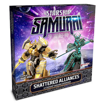 Starship Samurai Shattered Alliances - Ozzie Collectables