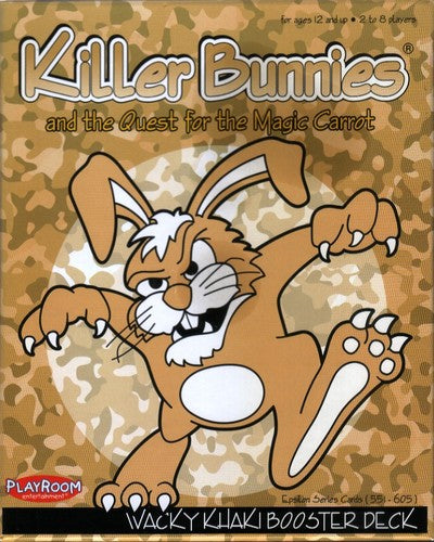Killer Bunnies Quest Wacky Khaki Booster - Ozzie Collectables