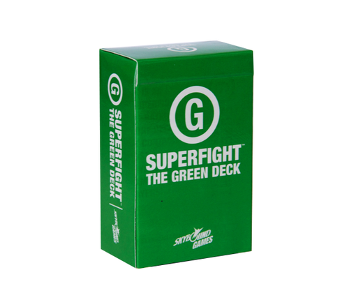 Superfight Green Deck - Ozzie Collectables