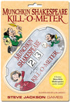 Munchkin Shakespeare Kill O Meter - Ozzie Collectables