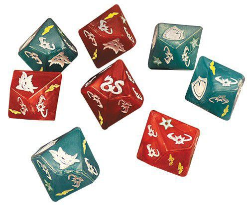 Sword and Sorcery Dice Pack - Ozzie Collectables