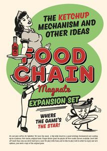 Food Chain Magnate The Ketchup Mechanism and Other Ideas Expansion Set - Ozzie Collectables