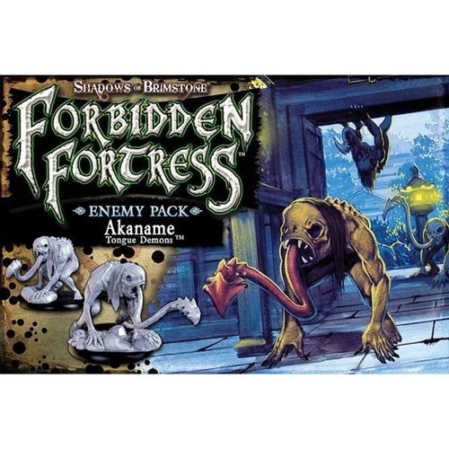 Shadows of Brimstone Forbidden Fortress Akaname Tongue Demon Enemy Pack