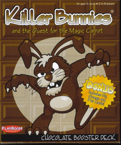 Killer Bunnies Quest Chocolate Booster - Ozzie Collectables
