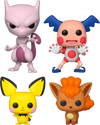 Pokemon Bundle - 4 POP! Vinyls - Ozzie Collectables