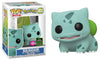Pokemon - Bulbasaur Flocked ECCC 2020 Exclusive Pop! Vinyl - Ozzie Collectables