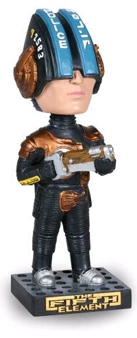 The Fifth Element - Police Bobble Head - Ozzie Collectables
