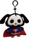 "Skelanimals - Superman Dax 4"" Clip-On Plush - Ozzie Collectables"