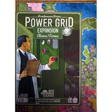 Power Grid China and Korea - Ozzie Collectables