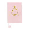 Pusheen - Wild Side A5 Velvet Effect Luxury Notebook - Ozzie Collectables