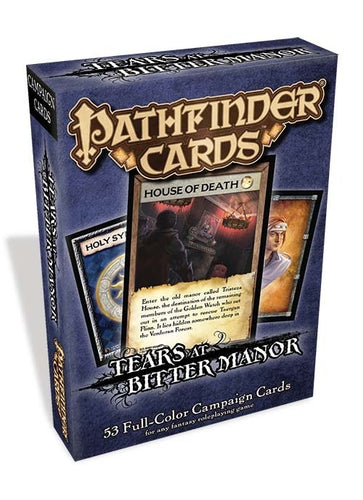 Pathfinder Tears at Bitter Manor Campaign Cards - Ozzie Collectables