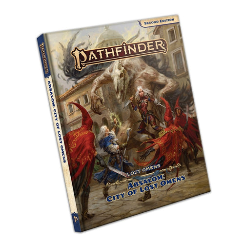 Pathfinder Second Edition Absalom City of Lost Omens - Ozzie Collectables