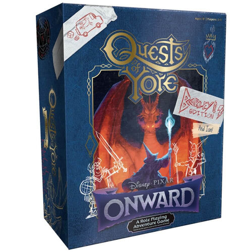 Disney Pixar Onward Quests of Yore Barley's Edition - Ozzie Collectables