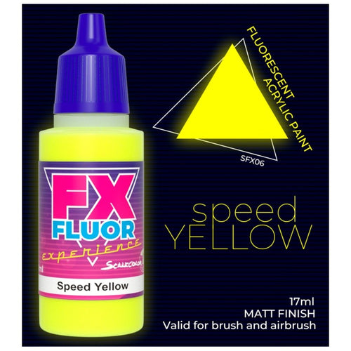 Scale 75 Scale Colour FX Speed Yellow 17ml
