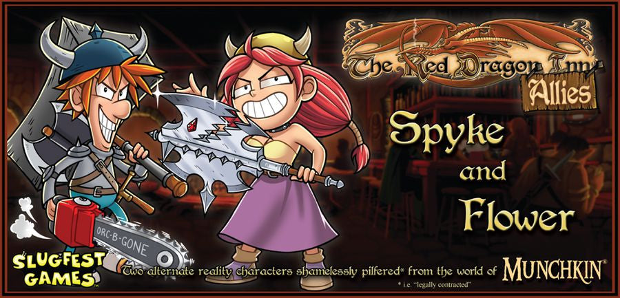 Red Dragon Inn Allies Spyke & Flower - Ozzie Collectables