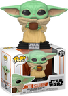 Star Wars: The Mandalorian - The Child with Cup Pop! Vinyl - Ozzie Collectables