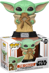 Star Wars: The Mandalorian - The Child with Frog Pop! Vinyl - Ozzie Collectables
