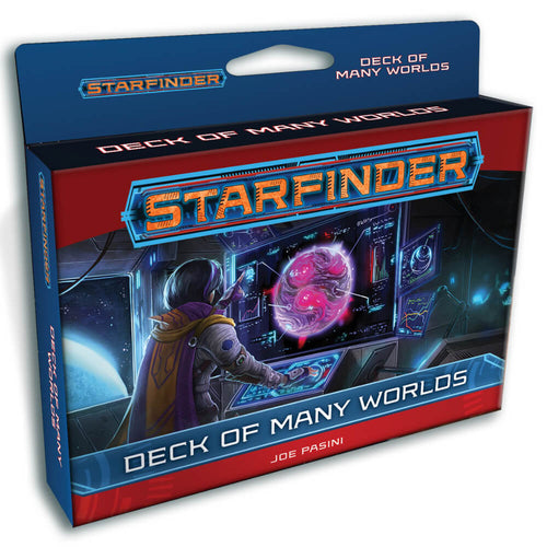 Starfinder RPG Deck of Many Worlds - Ozzie Collectables